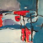 acryl op doek 40 x 40