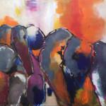 acryl op doek 80 x 100