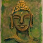 boeddha 50 x 70