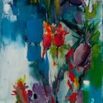 acryl op doek 40 x 80