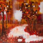 acryl op doek 150 x 100