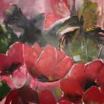 acryl op doek 100 x 100
